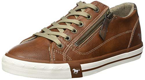 MUSTANG Damen 1146-302 Sneaker, 307 Cognac, 37 EU