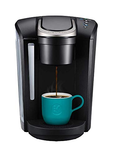 Keurig K-Select Single Serve K-Cup Pod Coffee Maker, with Strength Control and Hot Water On Demand, Matte Black (Non-Retail Packaging)