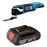 BOSCH GOP18V-28N Bare Tool 18V EC Brushless StarlockPlus Oscillating Multi-Tool with 2.0 AH battery