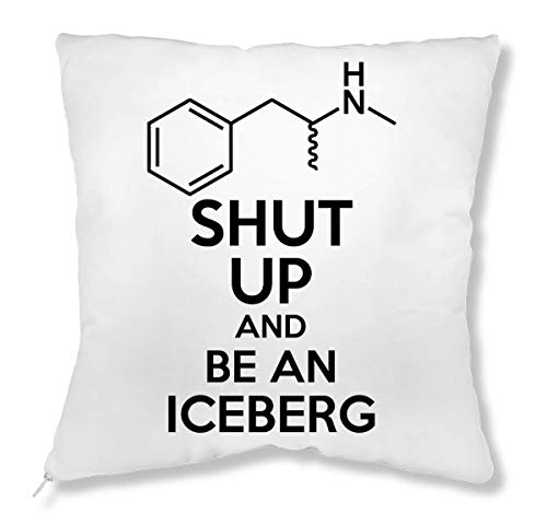 ShutUp and Be an Iceberg kussen