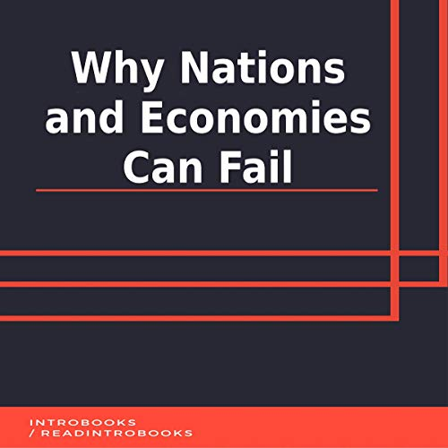 Why Nations and Economies Can Fail audiobook cover art