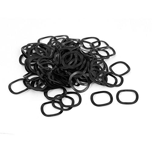 uxcell M16 16mm x 21mm x 0.3mm Metal Wavy Wave Crinkle Spring Washers 100pcs