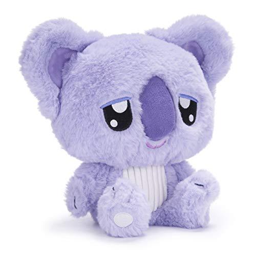 Posh Paws 37344 Moshi Sleepies SleepyPaws The Snoozy Koala 10' Soft Toy (25cm), Purple