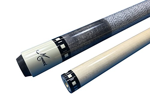 Meucci SB1-S Handcrafted Billiards Pool Cue Stick - Smoke Grey Stain + Hard CASE