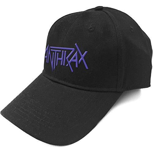 Anthrax Baseball Cap Band Logo Amongst The Living Nue offiziell Schwarz