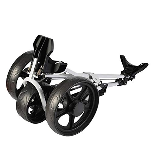 3 Wheel Push Pull Golf - Golf Cart - Golf Trolley - Wheel Push Pull Golf Cart - ONE Second to Open & Close!
