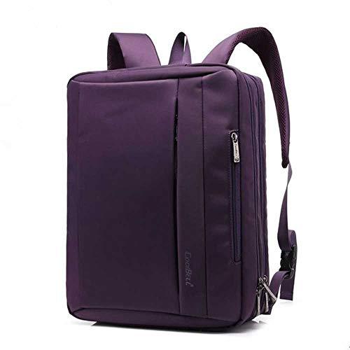 Laptoptasche, Rucksack, Reisegepäck, Aktentasche, Schultertasche, violett (Violett) - 6916318507251
