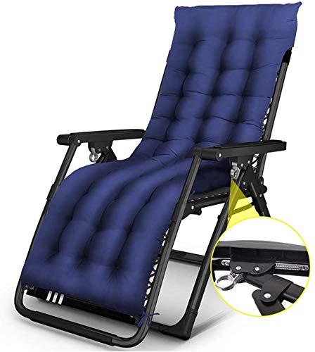 Transat jardin Chaise longue pliante Fauteuil salon chaises pliantes longues zéro chaise gravité Terrasse balcon Chaise longue réglable camping plage chaise longue de jardin en plein air, déhoussable