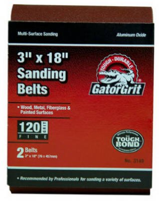 Sandbelt 3x21 120# 2pk -  Ali Industries Inc, 3145