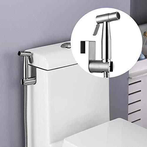 For Sale! Handheld Bidet Toilet Sprayer Set, Stainless Steel Bathroom Bidet Sprayer T Adapter Hose H...