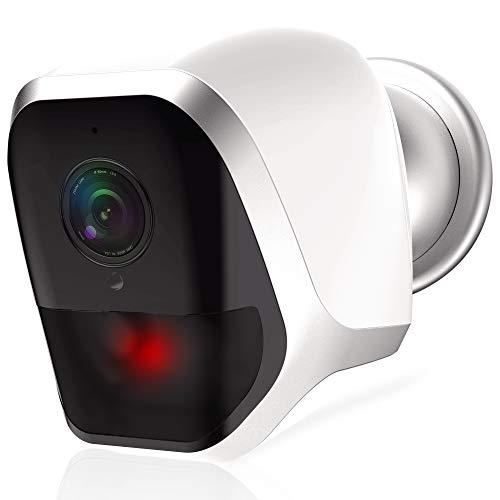 WLAN Full-HD 1080P Überwachungskamera kabellos Outdoor App 2-Wege Audio Nachtsicht Bewegungserkennung Sicherheit Metzler Iris