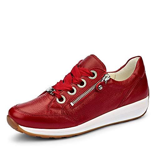 ARA Damen Osaka Sneaker Sneaker Größe 42 EU Rot (rot)