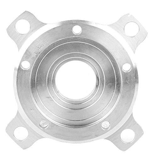 Kettenblätter 104 BCD TSDZ2 CNC Schmale Breite Kettenblatt Adapter Aluminium Kettenblatt für Rennrad, Mountainbike (Silber)