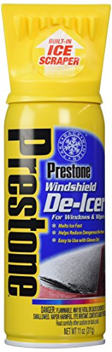 Prestone Windshield De-Icer, 11 oz