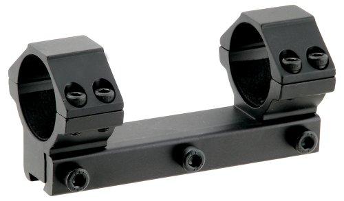 """UTG 1PC Medium Profile Airgun Mount with Stop Pin, 1"""" Dia , Black"""