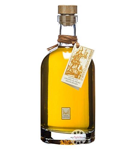 Villa Laviosa: Heulikör - Liquore con Grappa al Fieno / 30% Vol. / 0,7 Liter-Flasche