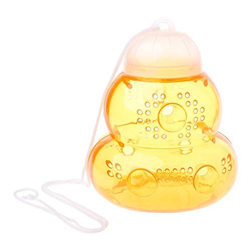 WINJEE, niet-giftige plastic wespenval Gourd gevormde fles Bumblebee Trap Anti-Sting geen chemische bijenvanger voor tuinbenodigdheden