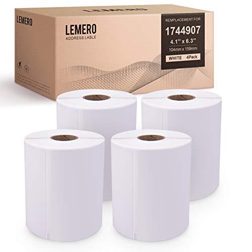 LEMERO Kompatibel mit DYMO 1744907 extra...