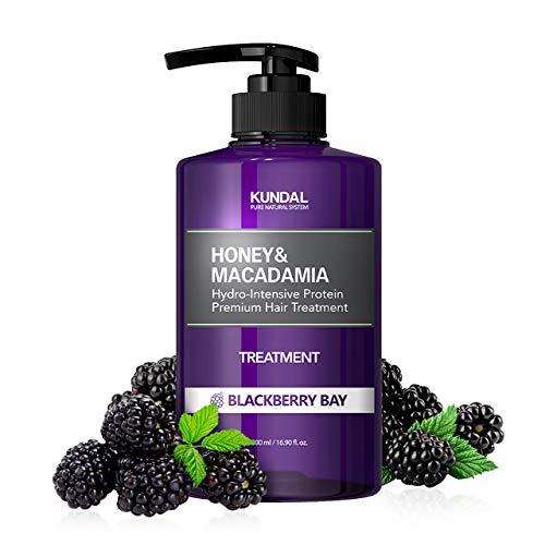 KUNDAL Honey&Macadamia Hydro-Intensive Protein Premium Nature Hair Treatment(Blackberry Bay) 500ml