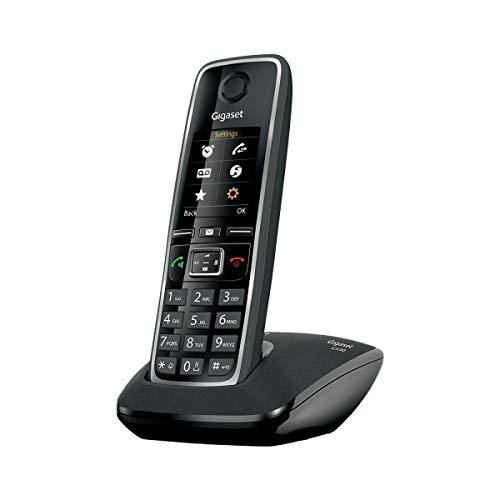 Gigaset Schnurloses Telefon C530, Schwarz