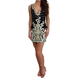 Black Homecoming Special Occasion Semi-Formal Dress
