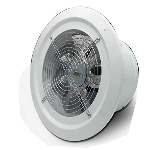 XZJJZ Leistungsstarke Ventilator, Box Fan Quiet High Speed Air Ventilation Ventilator for Haus Badezimmer Küche Garage