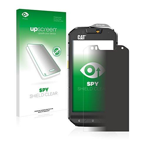 upscreen Anti-Spy Blickschutzfolie kompatibel mit Caterpillar Cat S60 Privacy Screen Sichtschutz Bildschirmschutz-Folie