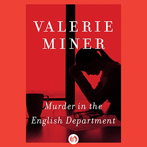 Murder in the English Department audiobook cover art