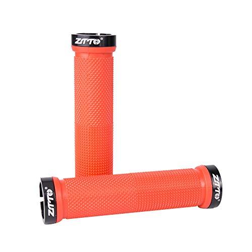 Modie DH BMX fietshandvat voor mountainbike, doden, vliegende auto kan anti-slip rubberen handgrepen blokkeren, rood, kopen om er een te geven.