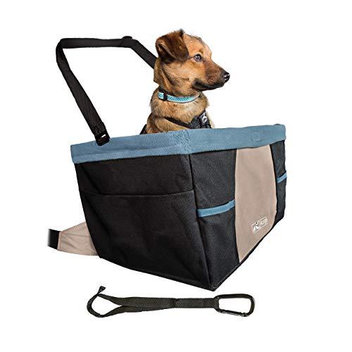 Kurgo K01144 Hunde Autositz, schwarz/blau