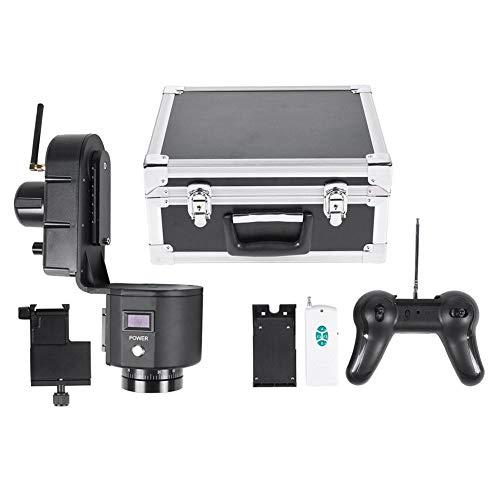 Pan/tilt-kop met afstandsbediening, 40-50 m afstandsbediening, verstelbare snelheid pan/tilt-kop, gemotoriseerd panoramastatief voor panoramasportfilms