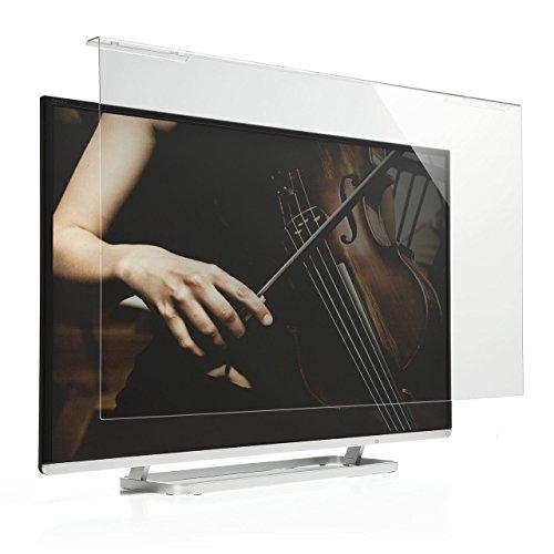 サンワダイレクト 液晶テレビ保護パネル 50インチ対応 アクリル製 テレビカバー クリア 200-CRT016