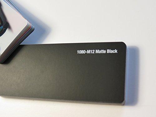 3M Scotchprint Wrap Film Series 1080 mat zwart gegoten autofolie 2000 x 152 cm gesneden