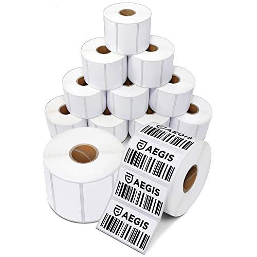 Etiquetas térmicas directas, 2. 25' x 1. 25' - zebra, 2 1/4' X 1 1/4' - Direct Thermal Labels (12...