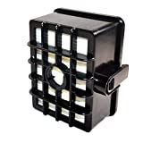HQRP SHORT Size HEPA Filter compatible with Shark Rotator NV450 NV451 / Rocket NV472, NV480, NV480 26, NV481, NV482, NV484 Professional Upright Vacuum Cleaner, XHF450 Replacement plus HQRP Coaster