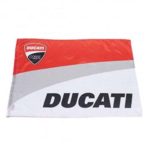 Ducati Corse Moto GP Rennen Logo Flagge Offiziell 2017