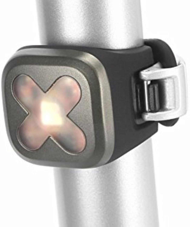 Knog Blinder 1 USB Rechargeable Light, Gunmetal, Rear