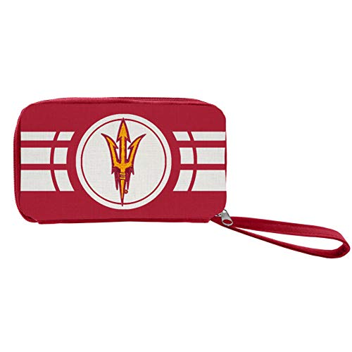 NCAA Ripple Zip Geldbörse, Damen, 100118-ASU-DRED, rot, 4