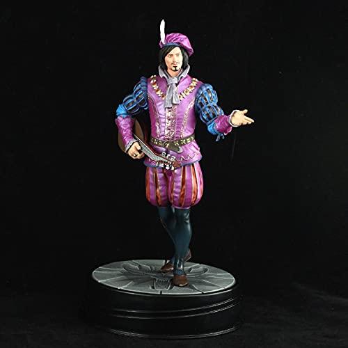 LJIS The Witcher 3: Wild Hunt Action Figurines 24cm Dandelion Matériau PVC écologique De Haute Qualité Statues Handmade Jouets Adaptés Aux Enfants Et Aux Adultes