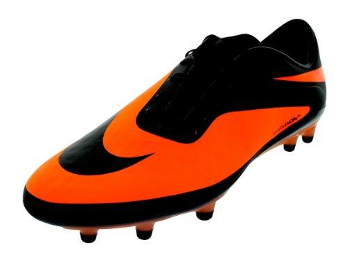 Nike Hypervenom Phatal FG, Scarpe da Calcio Uomo, Orange (Orange/Black), 8.5