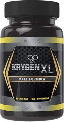 KRYGEN XL Natural Male Enhancement - (60 Capsules) Natural Testosterone Food Supplement Booster - Endurace/Stamina/Energy/Focus/Vitamin B6, Saw Palmetto, Ginseng, L-Arginine (Supplement Paradise)