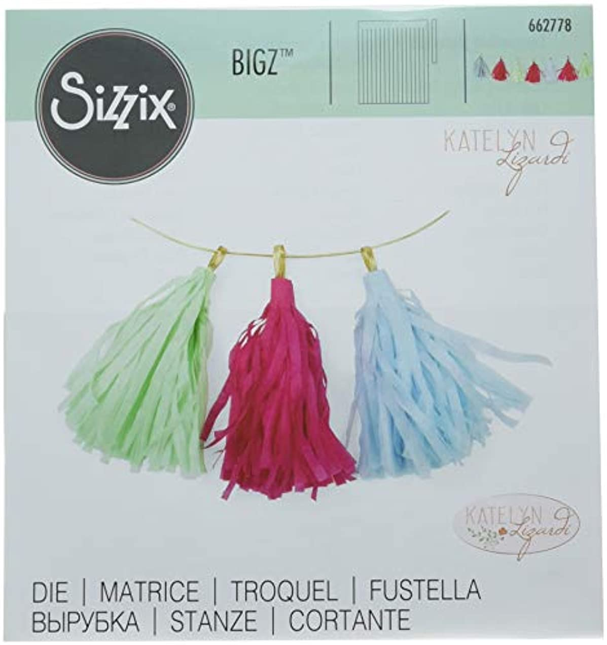 Sizzix (SIZC7) 662778 Big Die, Multi-Colored