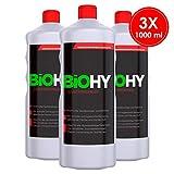 BIOHY Sanitärreiniger 3er Pack kraftvoller Bad Reiniger