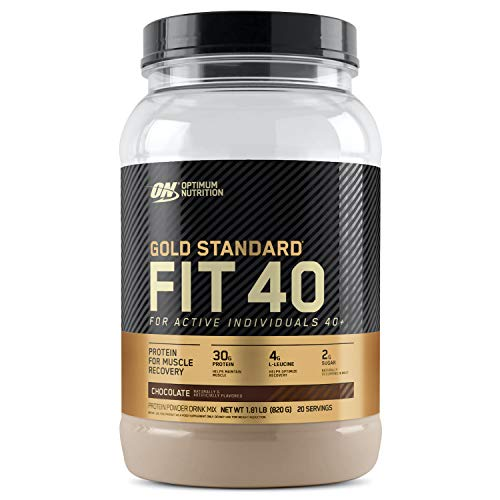 Optimum Nutrition: Fit 40 Protein Powder 780g Chocolate