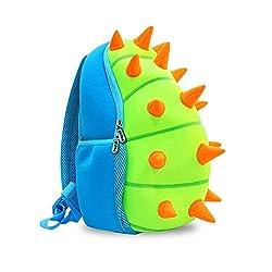 3. YISIBO 3D Toddler Dinosaur Backpack