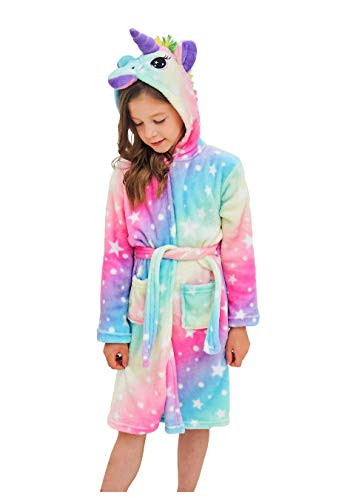 Disney Girls Frozen Elsa Luxe Plush Robe