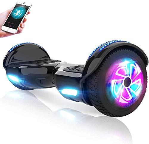 M MEGAWHEELS Hoverboard, Patinete electrico Auto Equilibrio 6.5 Pulgadas...