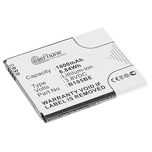 cellePhone batería Li-Ion para Samsung Galaxy Ace 3 LTE (GT-S7275 / GT-S7275R) (reemplazado EB-B105BE)
