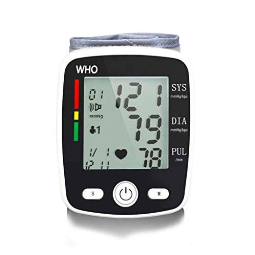 XUEYAYI Handgelenk Blutdruckmessgerät, Vollautomatische Blutdruck und Pulsmessung mit Arrhythmie Erkennung, Großem Display und Universaler Manschette