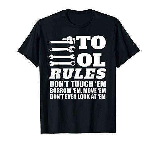 Shiyiqi1q Styletex23 Mechanic Funny Tool Rules Don't Touch E